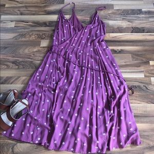 A&F Floral Wrap Dress NWT